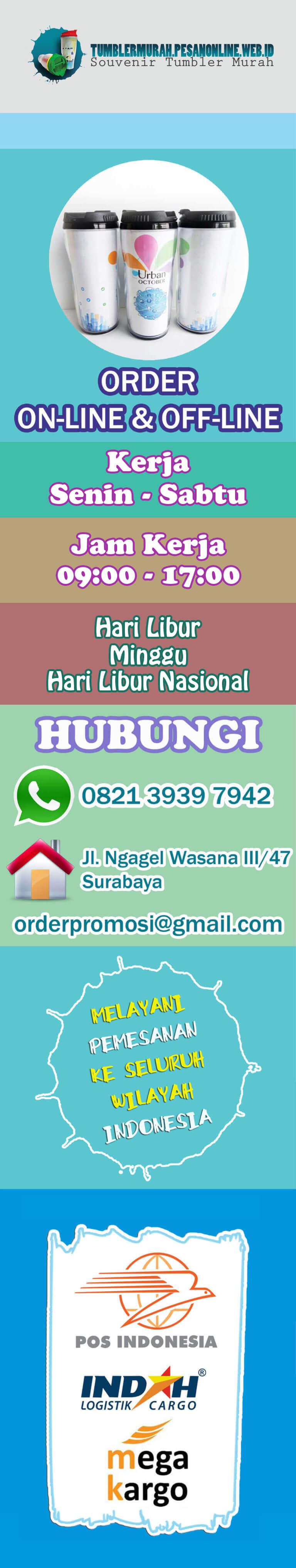 Banner Samping Souvenir Handuk Surabaya