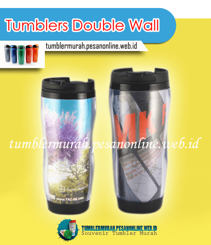 Jenis Tumbler Custom Murah