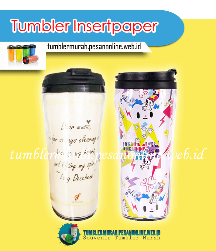 Supplier Dan Vendor Tumbler Promosi Murah