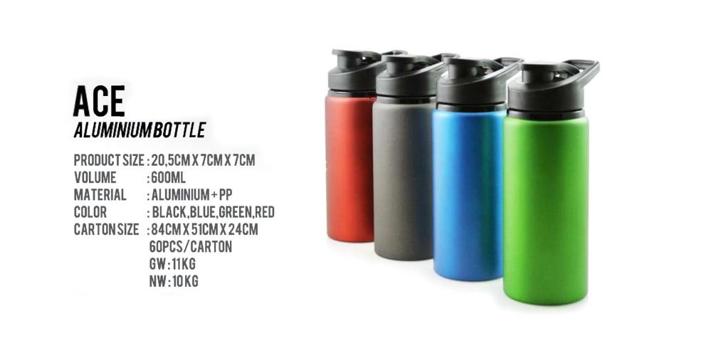 Spesifikasi Tumbler ACE Aluminium